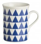 Rayware Triangle Mug Blue 30cl