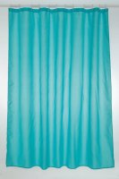 Blue Canyon Polyester Shower Curtain Blue