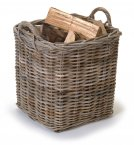 Garden Trading Set of 2 Square Baskets - Rattan