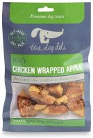 The Dog Deli  Chicken Wrapped Apple 100g