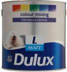 Dulux Matt Light Base 1 Litre 5090503