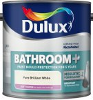 Dulux Bathroom+ Soft Sheen Pure Brillaint White 2.5 Litre