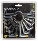 Blackspur 14 Piece Hexagon Key Set mm/AF