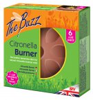 STV The Buzz Citronella Burner and 6 Coil Pack