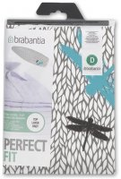 Brabantia D 135cm x 45cm Ironing Board 2mm Foam Cotton Cover - Nature (Assorted)