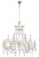 Searchlight Marie Therese Italian Style Crystal Chandelier