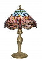 Searchlight Tiffany Dragonfly 47cm Table Lamp