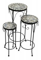 Summer Terrace Verde Plantstand Set of 3 Tall
