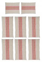 Garden Trading Set of Chilson Cushions, Large in Sunset Stripe