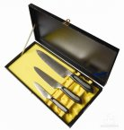 Tojiro Senkou 3 Piece Knife Presentation Set