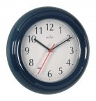 Acctim Wycombe Plastic Wall Clock Blue