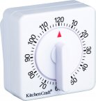 KitchenCraft Deluxe Half Round Wind-Up 120  Minute Timer