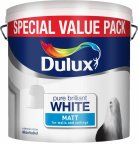 Dulux Pure Brilliant White Rich Matt 6 Litre
