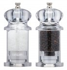 MasterClass Filled Acrylic Salt and Pepper Set, 13cm