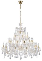 Searchlight Marie Therese Italian style Crystal Chandelier 3 Tier