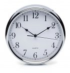 Kitchen Craft Stainless Steel Wall Clock 29cm