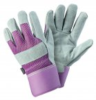 Briers Ladies Rigger Gloves Small Lavender