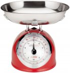 Judge Kitchen Traditional Scale 5kg Red