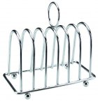 Apollo Housewares Chrome Toast Rack