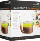 MasterClass Glass Combined Gravy/Fat Separator