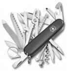 Victorinox Swiss Champ Swiss Arm Knife Multi Tool Black