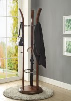 Jual Melbourne Rotating Coat Stand in Walnut