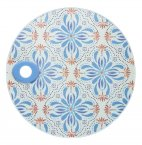 KitchenCraft Round Toughened Glass Worktop Protector Tile 24cm