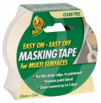 Duck Easy Off Masking Tape 50mm x 25m
