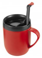 Zyliss Cafetiere Hot Mug Red