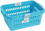 Wham Storage Solutions Medium Handy Baskets Pink/Blue/Lime Mix (Set of 3)