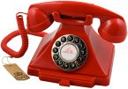 GPO Carrington Classic Retro Telephone - Red