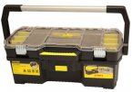 "Stanley 24"" Toolbox with Removable Tote Tray Organiser"