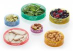 KitchenCraft Healthy Eating Colour Coded Portion Rings Set Of 6