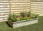 Zest4Leisure Sleeper Raised Bed - Small 180x90x30cm