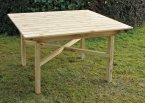 Zest4Leisure Abbey Square Table