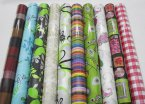 NJ Products Shelf Roll 4m x 50cm Assorted Designs