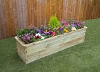 Zest4Leisure Sleeper Raised Bed - Narrow 180x45x45cm