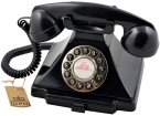 GPO Carrington Classic Retro Telephone - Black
