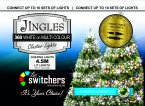 Jingles 360 LED Switcher Chasing Lights - White/Multicoloured