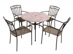 Summer Terrace Romano 90 Patio Set - Modena