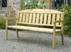 Zest4Leisure Caroline Three Seater Bench 1.7m