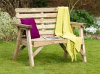 Zest4Leisure Abbey 2 Seater Bench