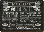 Creative Tops Standard Tablemats (Set of 6) Recipe for Love