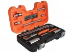 "34-Piece 1/4"" & 3/8"" Square Drive Socket & Bit Set"