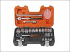 "24-Piece 1/2"" Square Drive Socket Set"