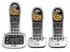 BT Trio Big Button Telephones BT4500