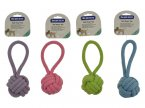 The Pet Store Strong Rope Toy - Ball Rope with Loop