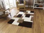 Think Rugs Fashion 7646 Ivory/Brown