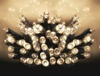 Premier Decorations Timelights™ Battery Operated Multi-Action 400 LED - Warm White