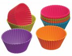 Colourworks Silicone Cupcakes Cases 7cm, Pack of 12